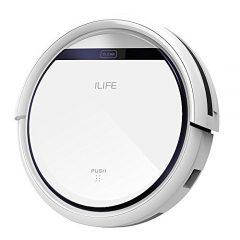 ILIFE ILIFE V8s – Robot Aspirador, Color Plateado y Gris